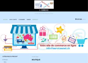 exemples de site de commerce 2