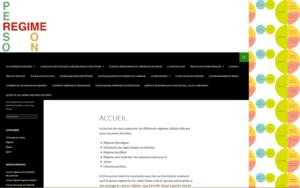 Sites internet réalisés PersoReg1